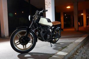 Úprava Honda CB 400N